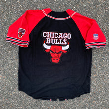 Load image into Gallery viewer, 90's Chicago Bulls Baseball Jersey-Locker Room Clt