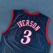 Load image into Gallery viewer, 2000's Allen Iverson Authentic Jersey by Reebok-Locker Room Clt