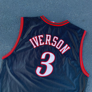 2000's Allen Iverson Authentic Jersey by Reebok-Locker Room Clt