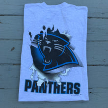 Load image into Gallery viewer, 90's Carolina Panthers Front & Back Big Print Tee (Large)-Locker Room Clt