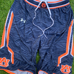 2014/2015 Auburn Tigers Team Issued College Basketball Shorts-Locker Room Clt