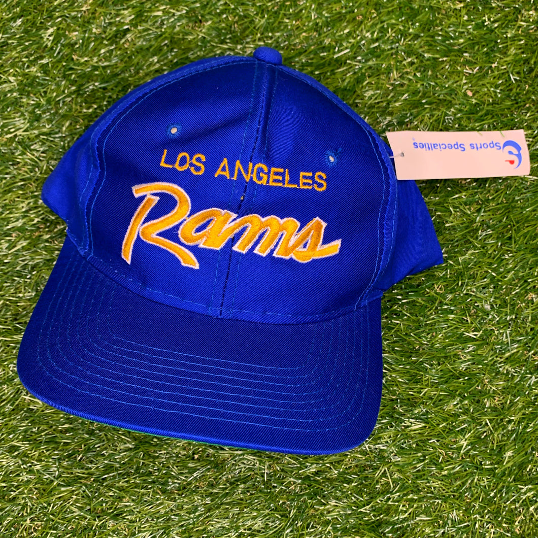 90's Los Angeles Rams Script Snapback by Sports Specialities - Brand New-Locker Room Clt