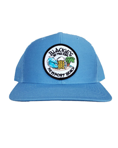Light Blue Trucker Classic Patch