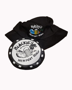 Black Collapsible Bucket Hat