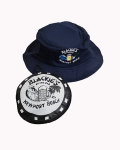 Navy Collapsible Bucket Hat
