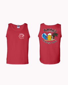 Men's Red Tank Classic