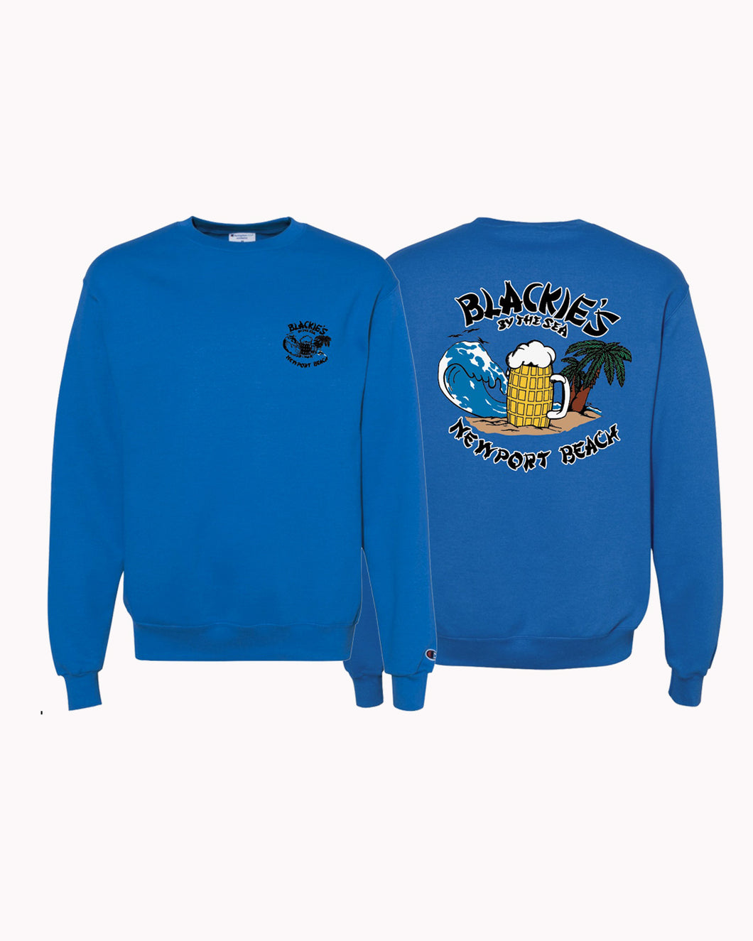 Blackie's Classic Crewneck Sweatshirt - Royal Blue