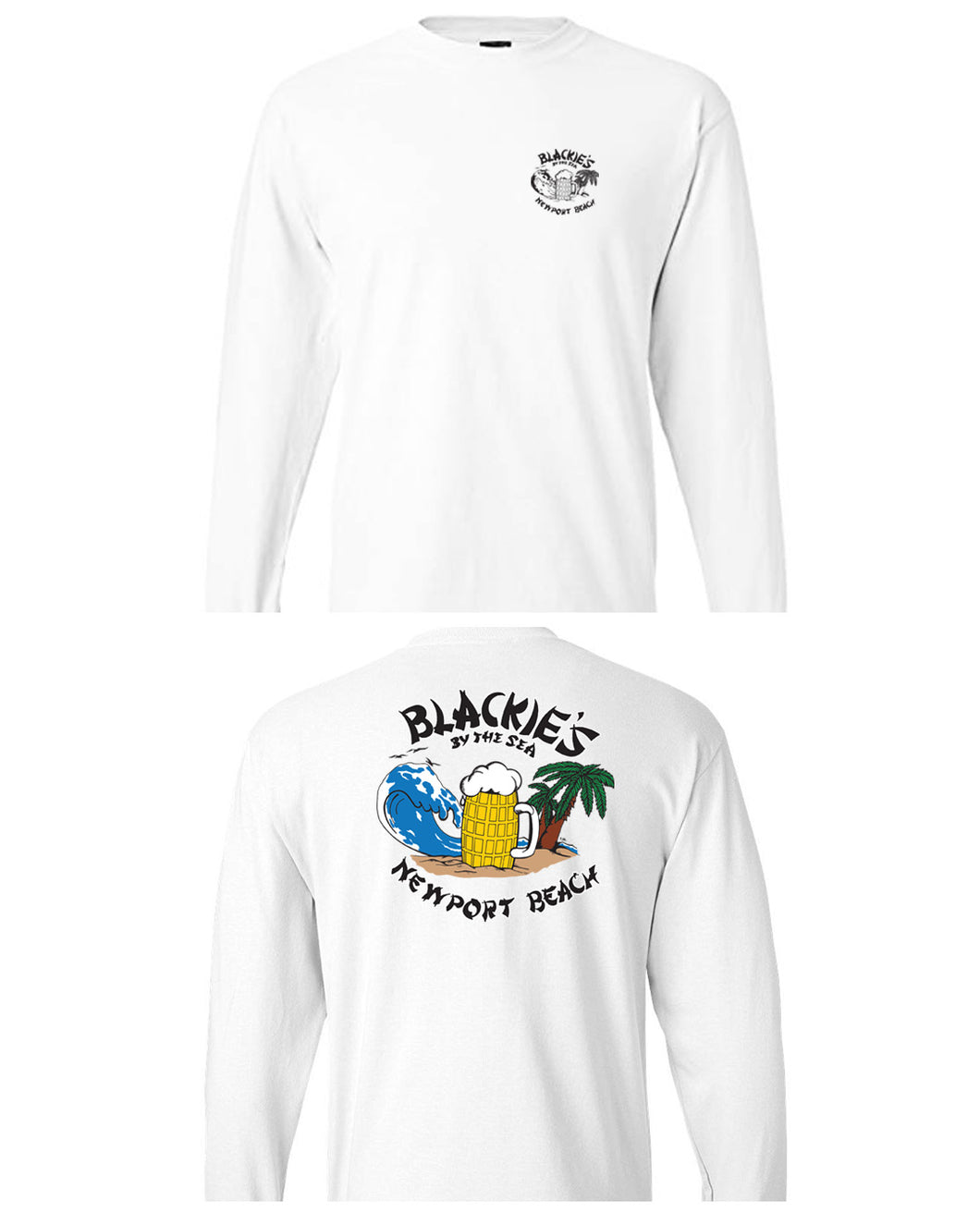 White Long Sleeve Classic