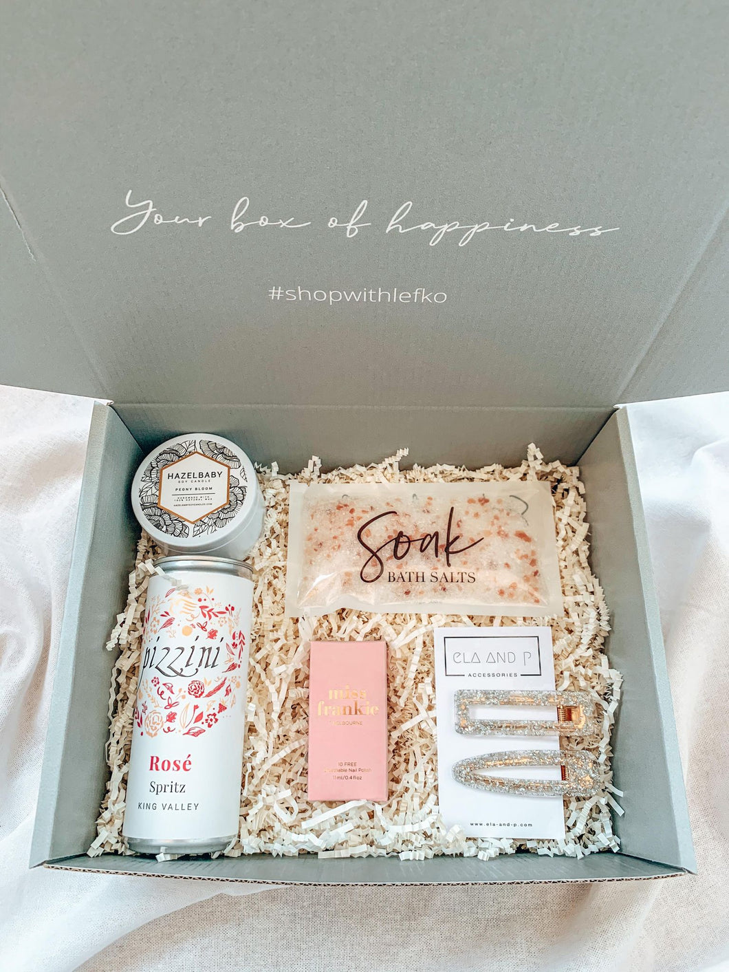 SIP + SOAK BOX
