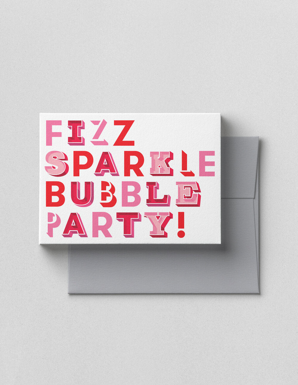 V.HAPPY CO GREETING CARD- FIZZ SPARKLE
