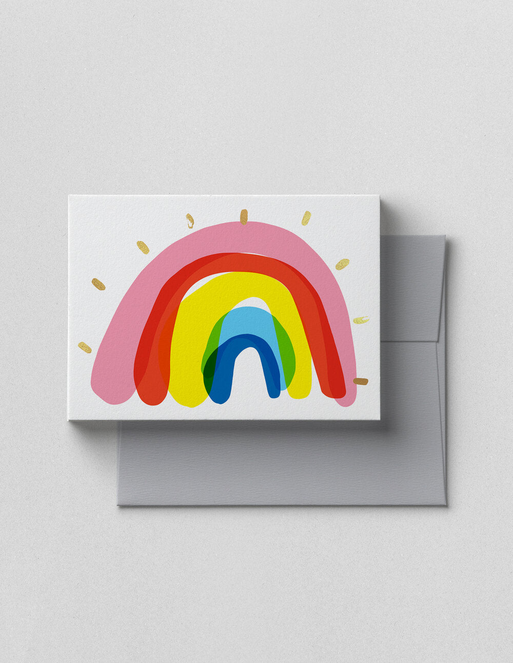 V. HAPPY CO GREETING CARD- RAINBOW