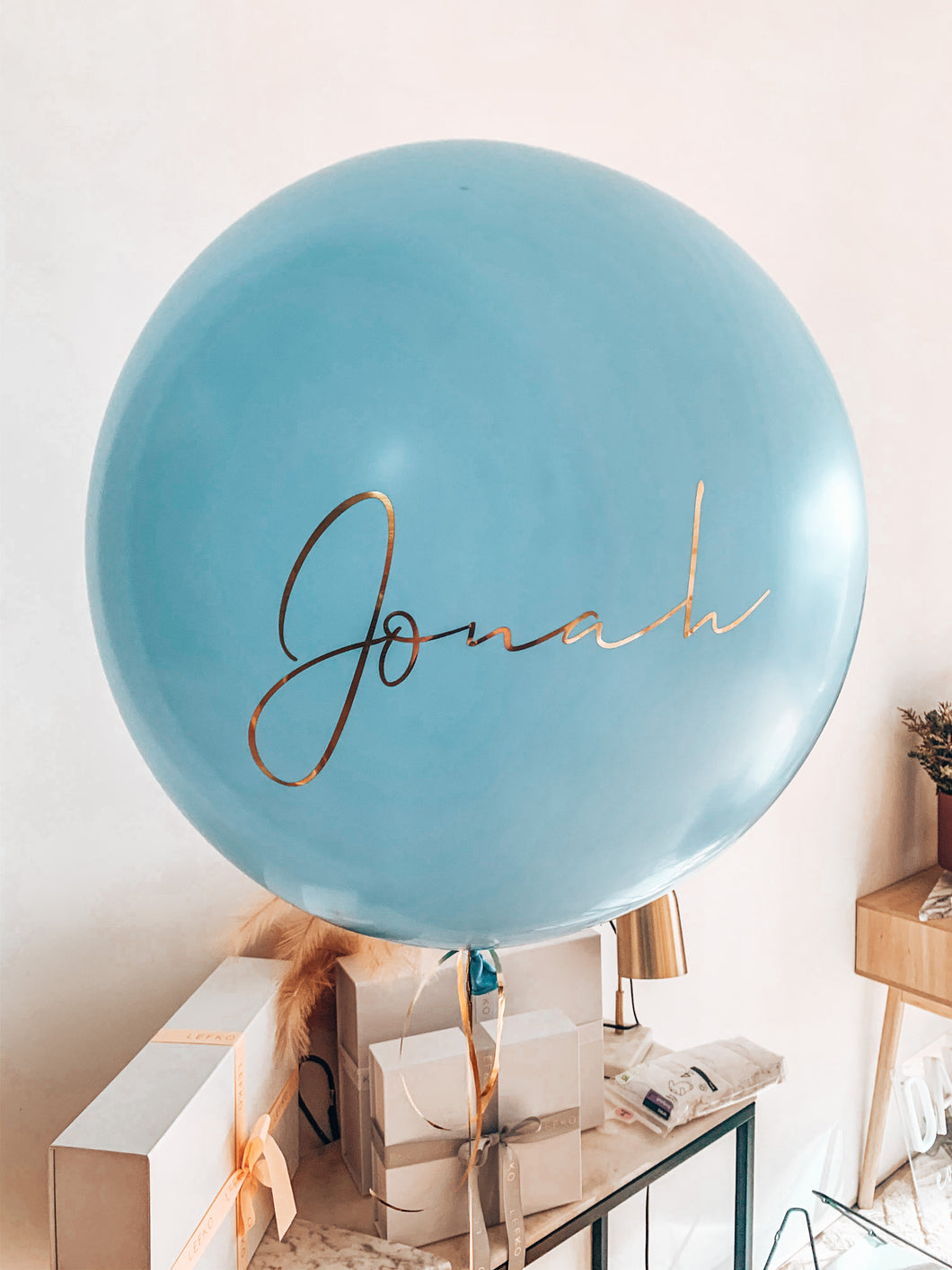 BALLOONS 60CM + DECAL
