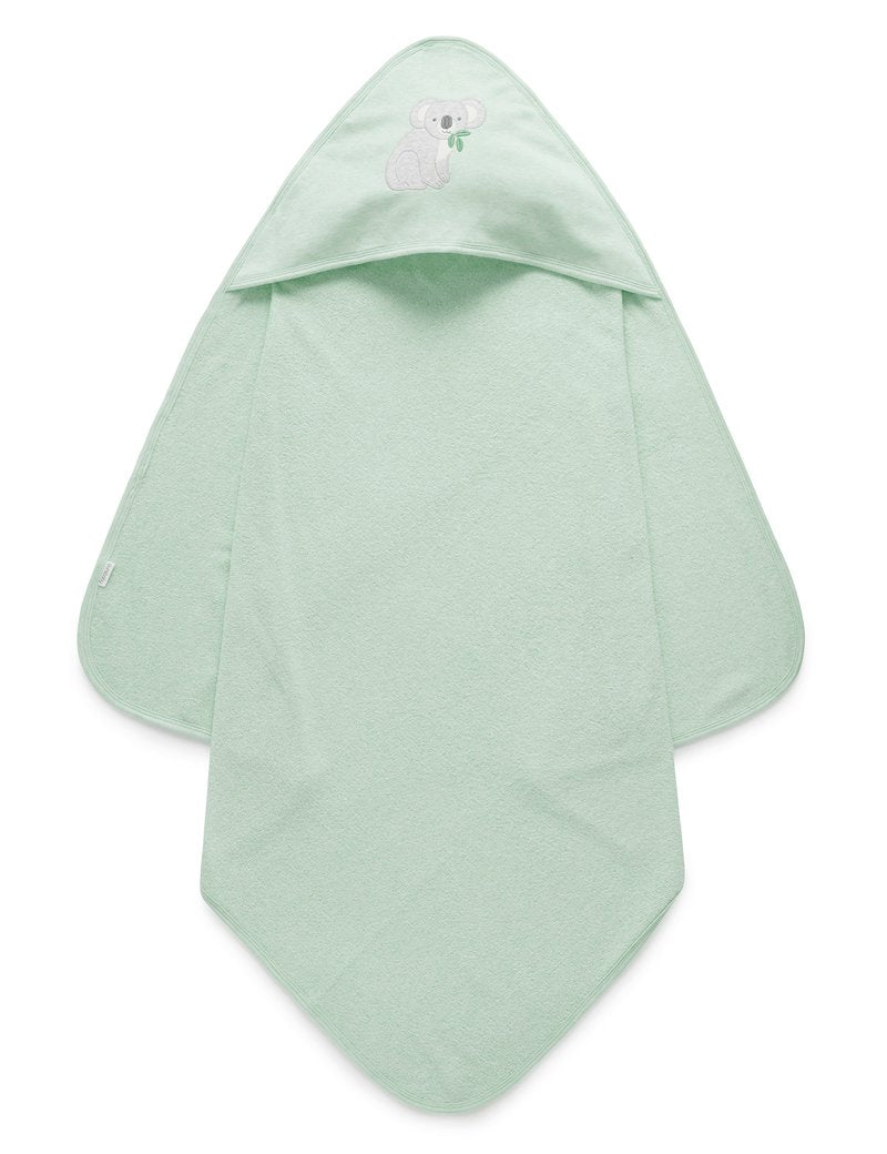 PUREBABY HOODED TOWEL