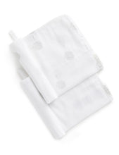 Load image into Gallery viewer, PUREBABY MUSLIN FACEWASHER 2 PACK