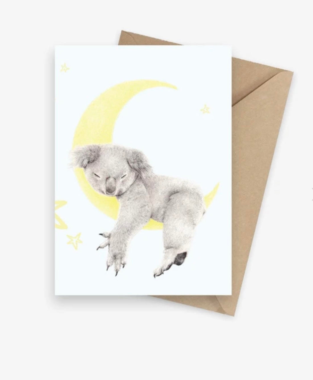 CARMEN HUI GREETING CARD- SLEEPY KOALA