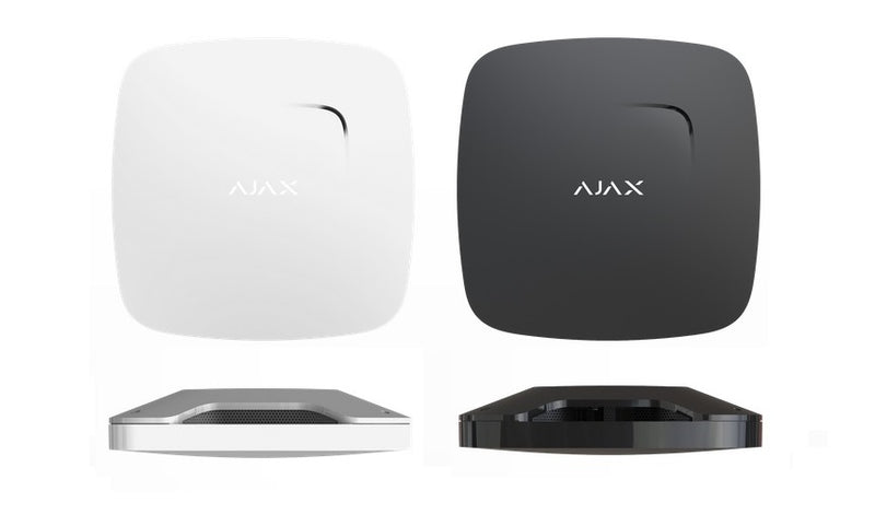 AJAX FIREPROTECT PLUS - Smoke, Heat, and CO Detector (AND/OR)