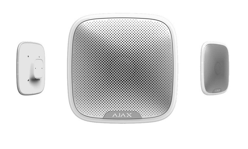 AJAX StreetSiren - Outdoor siren WHITE/BLACK