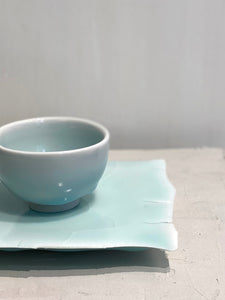 Early spring 早春 </br>(1 cup and 1 plate) </br> Kate SIU