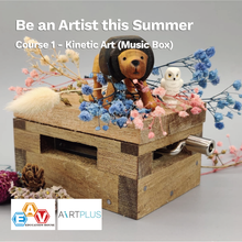 Load image into Gallery viewer, Be an Artist this Summer</br>Course 1 - Kinetic Art (Music Box)