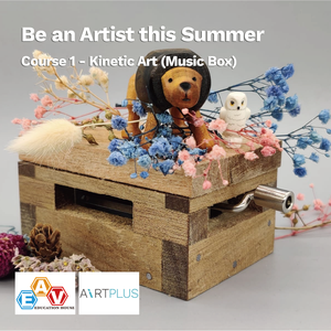 Be an Artist this Summer</br>Course 1 - Kinetic Art (Music Box)