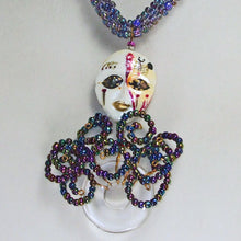 Load image into Gallery viewer, Palixena Beaded Wire Pendant Necklace blow up view