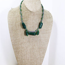 Load image into Gallery viewer, Ladawna Beaded Viking Knit Jewelry Necklace relevant front view