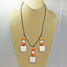 Load image into Gallery viewer, Xenia Beaded Pendant Necklace relevant view