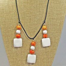 Load image into Gallery viewer, Xenia Beaded Pendant Necklace close view