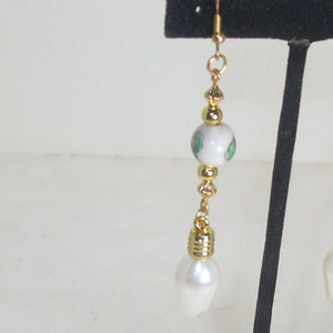 Dacia Christmas Lightbulb Earrings single view