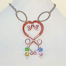 Load image into Gallery viewer, Daiya Wire Jewelry Necklace relevant front view