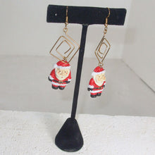 Load image into Gallery viewer, Hafsa Christmas Dangle Earrings relevant view