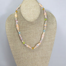 Load image into Gallery viewer, Odessa Paper Bead Necklace relevant front view