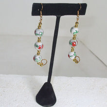 Load image into Gallery viewer, Kacia Christmas Bead Earrings relevant view