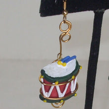 Load image into Gallery viewer, Mabellee Christmas Drummer Earrings single view