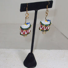Load image into Gallery viewer, Mabellee Christmas Drummer Earrings relevant view
