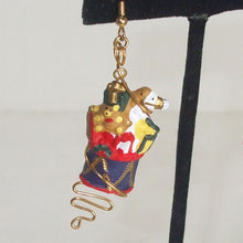 Load image into Gallery viewer, Pabla Christmas Stocking Earrings single view