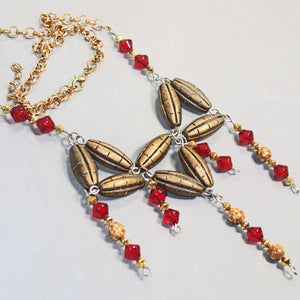 Xiang Beaded Jewelry Necklace flat view