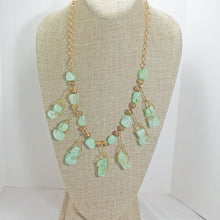 Load image into Gallery viewer, Sachi Beaded Green Agate Necklace relevant view