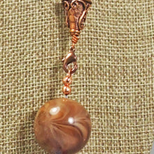 Load image into Gallery viewer, Fabia Beaded Stringing Necklace clasp view