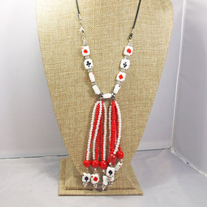 Hadara Beaded Stringing Necklace front relevant view