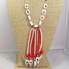 Load image into Gallery viewer, Hadara Beaded Stringing Necklace front close view