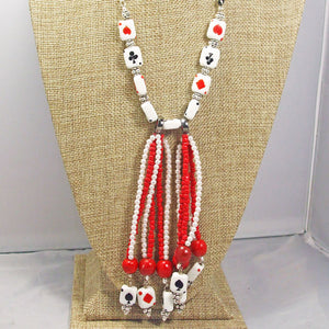 Hadara Beaded Stringing Necklace front close view