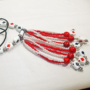 Hadara Beaded Stringing Necklace flat view