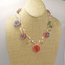 Load image into Gallery viewer, Lanthe Hobo Beaded Necklace relevant view