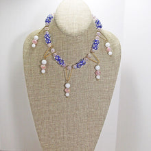Load image into Gallery viewer, Nabila Beaded Necklace relevant view