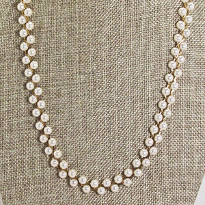 Abia Pearl Beaded Necklace close view