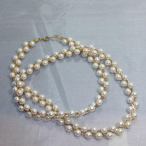 Abia Pearl Beaded Necklace flat view