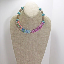 Load image into Gallery viewer, Baldomera Bead Crochet Necklace relevant view