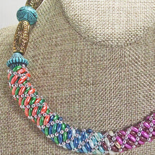 Load image into Gallery viewer, Baldomera Bead Crochet Necklace blow up view