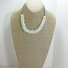 Load image into Gallery viewer, Dalila Bead Crochet Necklace relevant view
